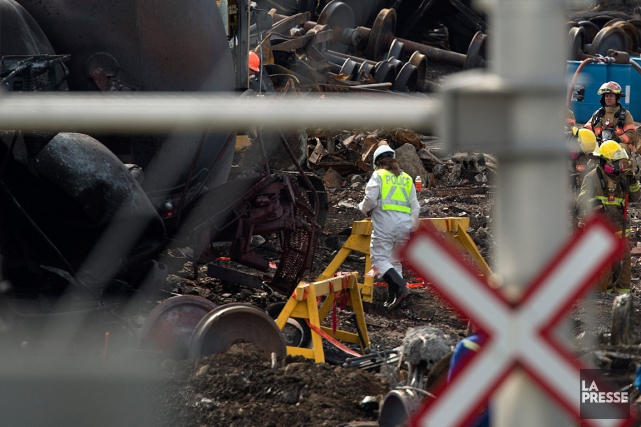 L'accident ferroviaire survenu à Lac-Mégantic le 6 juillet... (PHOTO ROBERT SKINNER, ARCHIVES LA PRESSE)