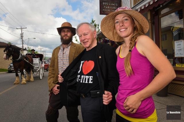 Saint-Tite a dévoilé ses activités estivales, lundi matin.... (Photo: François Gervais, Le Nouvelliste)