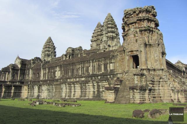 La beauté des temples d'Angkor transcende les cultures,... (La Tribune, Jonathan Custeau)