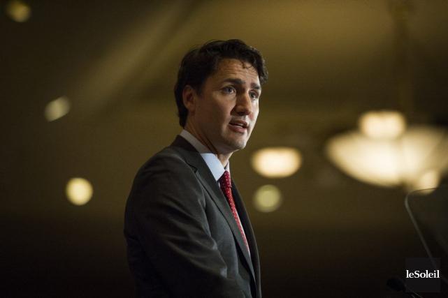Justin Trudeaune croit pas qu'il serait dans l'intérêt... (Photothèque Le Soleil)