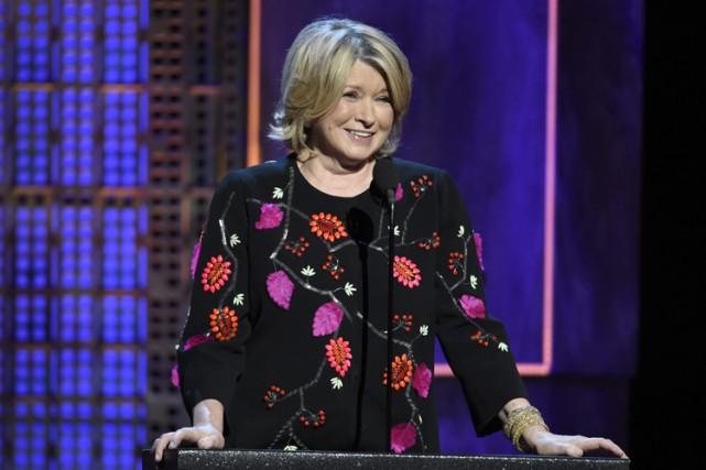 Martha Stewart... (PHOTO AP)