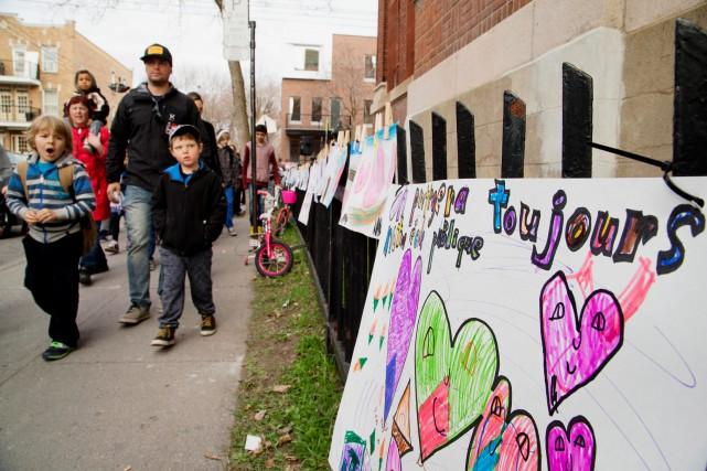 Les commissions scolaires ont soudainement l'appui des parents,... (Photo Alain Roberge, archives La Presse)