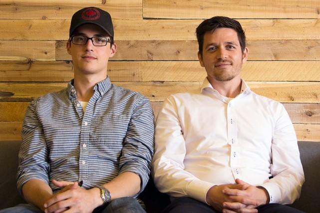 David Dupont cofondateur de l'entreprise Bulldozer avec MathieuLespérance... (Photo fournie par Bulldozer)