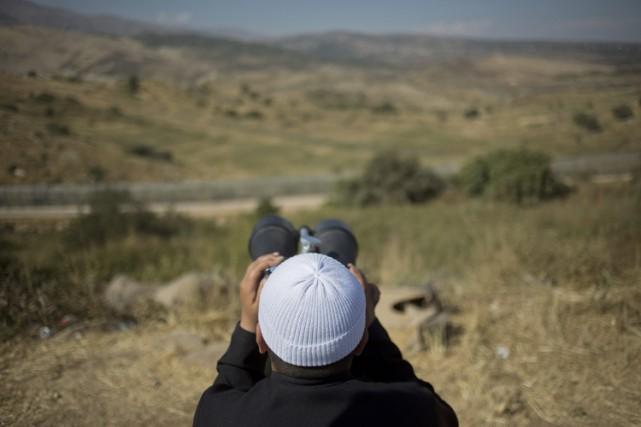 Les druzes de Syrie, une minorité musulmane hétérodoxe... (PHOTO AP)