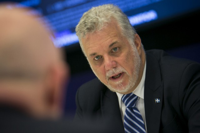Philippe Couillard... (ARCHIVES BLOOMBERG)