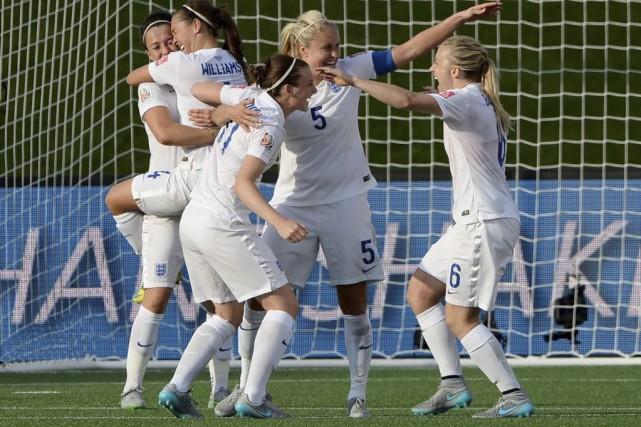 Les Britanniques sont classées sixièmes à la FIFA,... (Photo Sean Kilpatrick, PC)