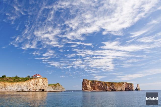 Le rocher Percé, en Gaspésie... (Photothèque Le Soleil)