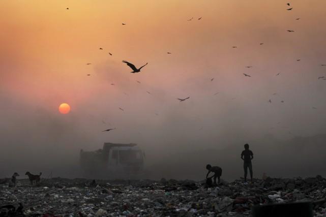 Les changements climatiques pourraient anéantir les progrès sanitaires des... (PHOTO AP)
