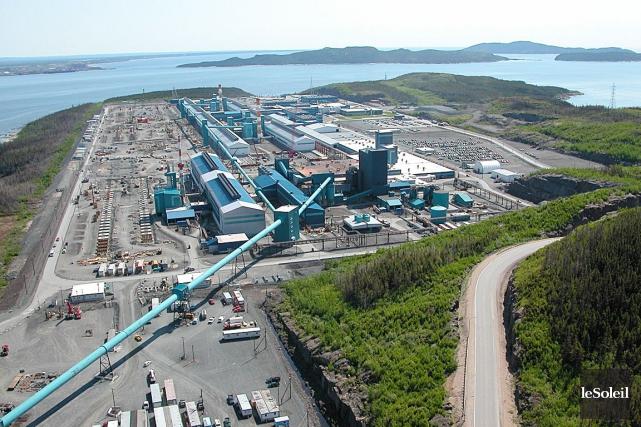 L'Aluminerie Alouette de Sept-Îles... (Photothèque Le Soleil)