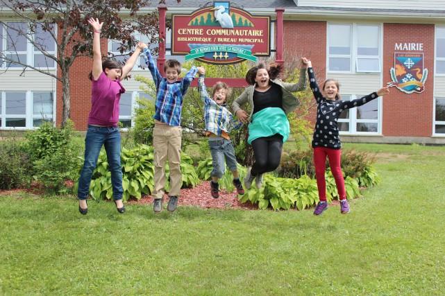 Les élèves de Lac-Édouard, tout comme ceux d'ailleurs... (PHOTO: AUDREY TREMBLAY)