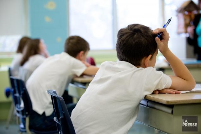 Lors de l'année scolaire2005-2006, 745psychologues étaient à l'emploi... (Photo archives La Presse)