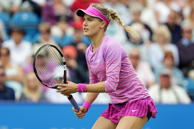 Eugenie Bouchard venait de perdre neuf de ses 10... (Photo Henry Browne, Reuters)