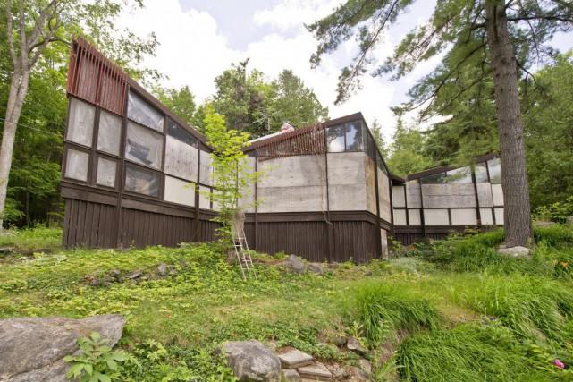 La maison Strutt est l'oeuvre de l'éminent architecte...