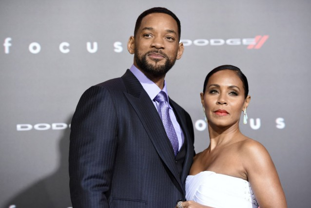 Will Smith, sa femme Jada Pinkett Smith et... (Photo archives AP)