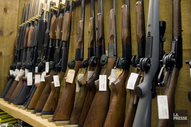 Le registre des armes d'épaule n'est pas encore tout à fait mort: Ottawa a... (PHOTO ANDRÉ PICHETTE, ARCHIVES LA PRESSE)