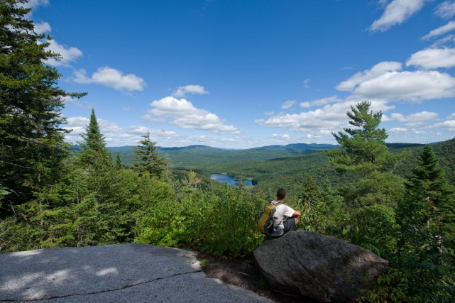 Le Parc national du Mont-Tremblant.... (PHOTO STEVE DESCHENES, FOURNIE PAR LE PARC NATIONAL DU MONT-TREMBLANT, SÉPAQ)