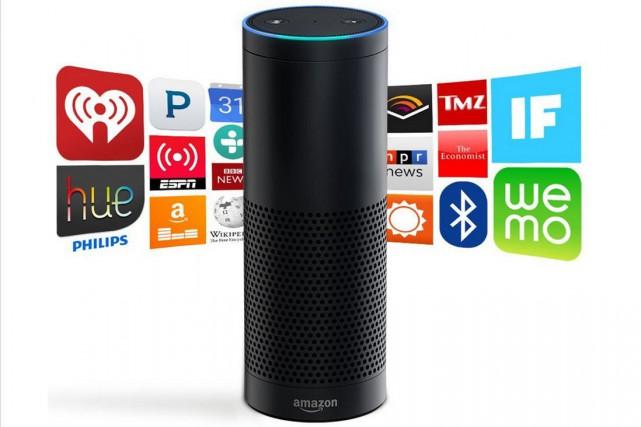 Echo permet par une simple commande vocale de... (Photo tirée du site internet)