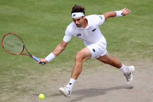 David Ferrer... (Photo Matthew Childs, Reuters)