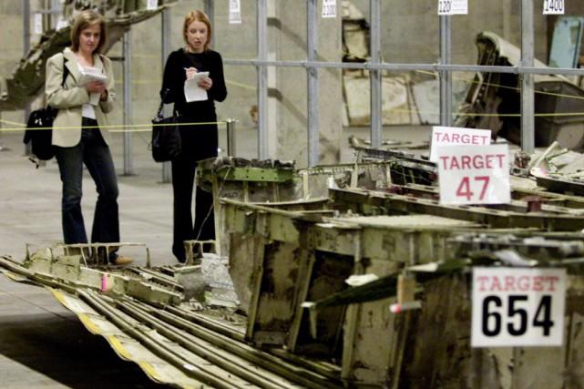 Les restes du vol 182 d'Air India sont... (Photo Chuck Stoody, La Presse canadienne)