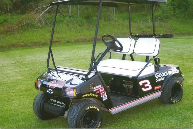 La voiturette de golf rapportée volée dans le Pontiac, ces derniers jours, a... (Courtoisie)
