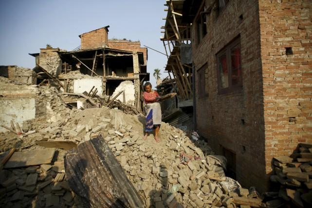 Les tremblements de terre du 25 avril et... (PHOTO NAVESH CHITRAKAR, ARCHIVES REUTERS)
