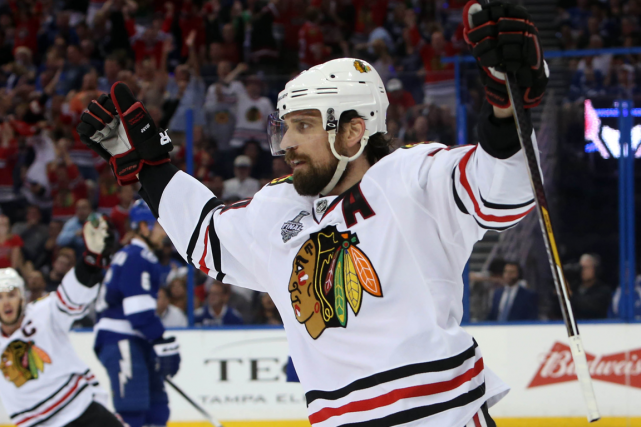Patrick Sharp... (Photo Kim Klement, USA Today)