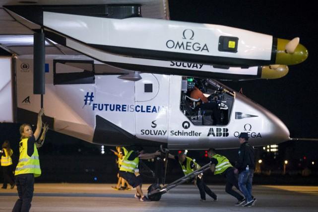 La fragilité de l'appareil interdit de décoller à... (Photo Thomas Peter, Reuters)