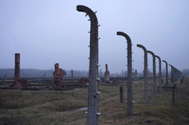 Auschwitz-Birkenau.... (PHOTO REUTERS)
