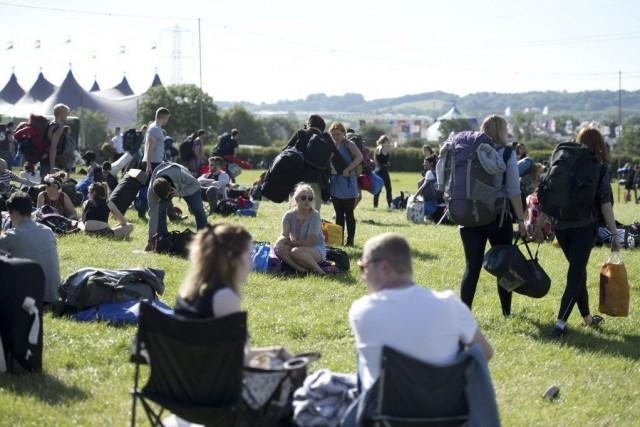 Glastonbury, qui se déroule depuis 1970 sur les... (PHOTO OLI SCARFF, AFP)