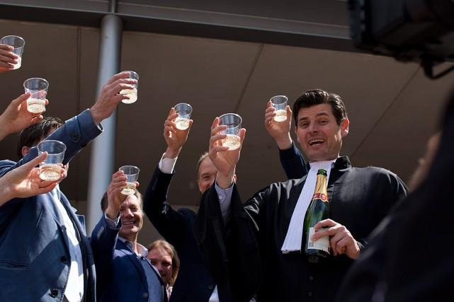 Quelque 900 Néerlandais avaient entamé une action en... (PHOTO AP)