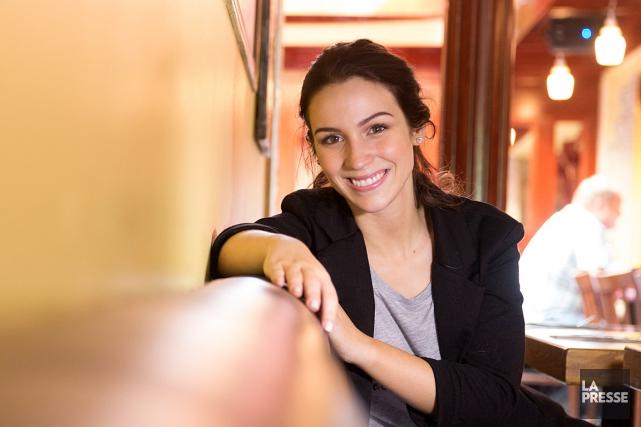 La maquilleuse québécoise Cynthia Dulude, photographiée dans un... (PHOTO IVANOH DEMERS, LA PRESSE)