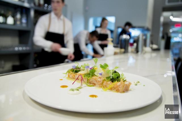 La cuisine demeure plutôt classique, mais son exécution... (Photo Alain Roberge, La Presse)
