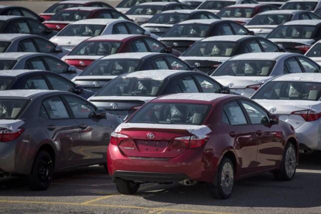 Les ventes d'automobiles records en Amérique du Nord et la faiblesse du dollar... (Photo Mark Blinch, archives Reuters)