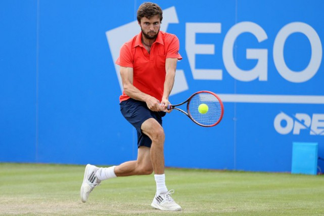Gilles Simon... (Photo Matthew Childs, Reuters)