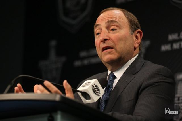 Le commissaire de la LNH, Gary Bettman.... (Photo Trevor Hagan, La Presse Canadienne)