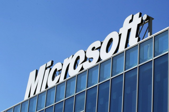 Les applications Word, PowerPoint et Excel étaient disponibles... (Photo Bogdan Cristel, archives Reuters)