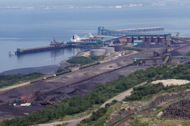 Le ralentissement du marché du fer affectera fortement... (Photo fournie par le Port de Sept-Îles)