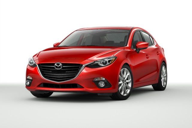 La Mazda3 GT 2015... (PHOTO FOURNIE PAR MAZDA)