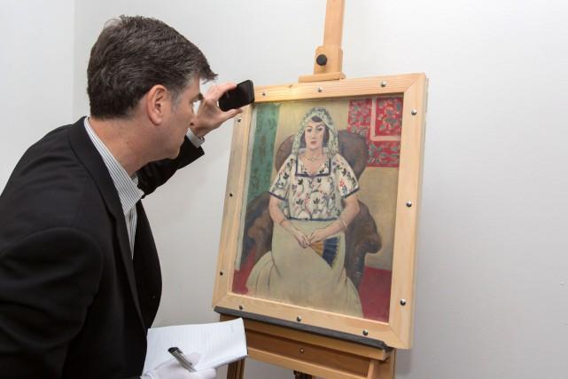 Pour la première fois, un tableau issu de la collection de Cornelius Gurlitt,... (PHOTO WOLF HEIDER-SAWALL, AFP/ART RECOVERY)
