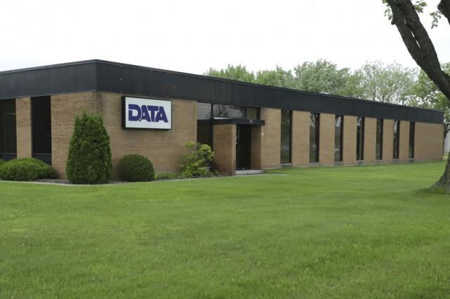 L'installation granbyenne de Groupe DATA sera transformée en... (photo Catherine Trudeau)