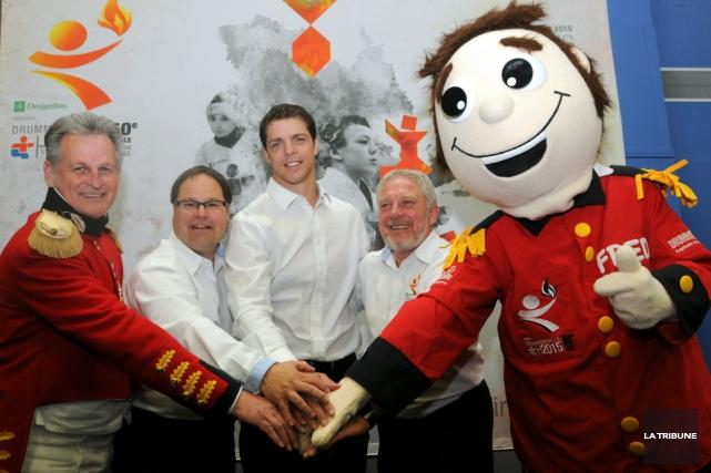 Le directeur général des Jeux du Québec de... (La Tribune, Yanick Poisson)