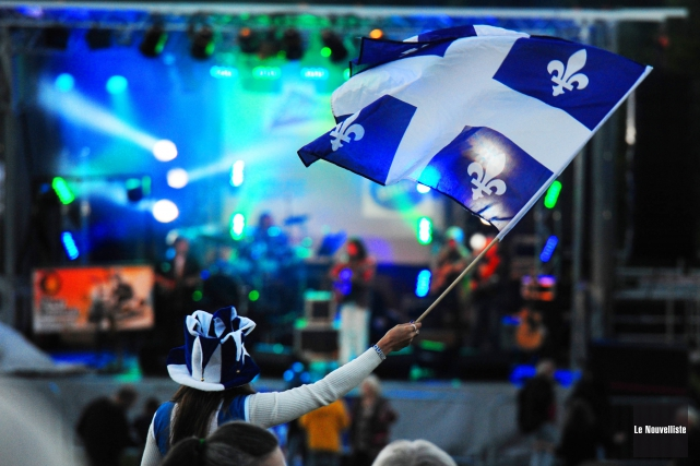 La 73e célébration de la fête nationale dans... (Photo: Andréanne Lemire Le Nouvelliste)