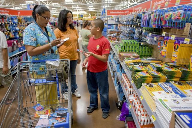 Les prix à la consommation aux Éatts-Unis ont... (PHOTO ARCHIVES BLOOMBERG)