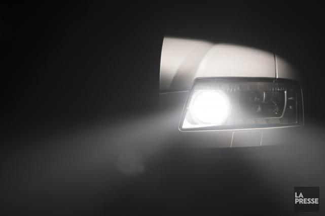 Une poursuite policière sur la route112 à Stukely a mené à l'arrestation d'un... (Archives La Presse)