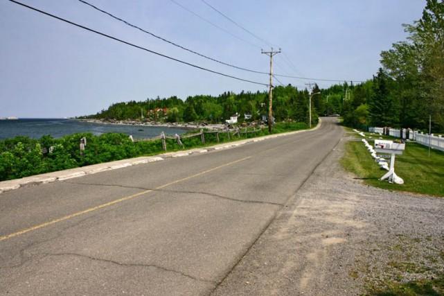 Route de la Mer, Métis-sur-Mer... (Ruralys / CRÉ BSL (2008))