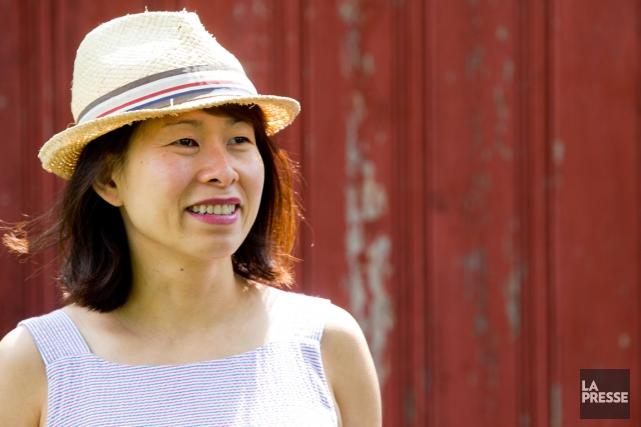 Kim Thúy... (PHOTO OLIVIER JEAN, LA PRESSE)