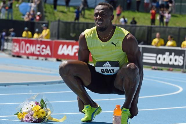 Usain Bolt... (Photo Don Emmert, AFP)