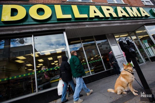 La rémunération totale de la haute direction de Dollarama a bondi de 24,7% au... (PHOTO EDOUARD PLANTE-FRÉCHETTE, LA PRESSE)