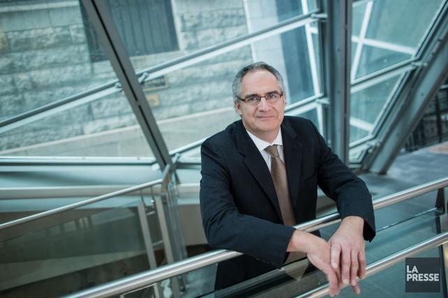 Le président des Manufacturiers et exportateurs du Québec,... (PHOTO EDOUARD PLANTE-FRÉCHETTE, LA PRESSE)