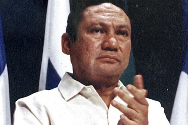 L'ancien dictateur du Panama, Manuel Noriega.... (Photo Alberto Lowe, Reuters)